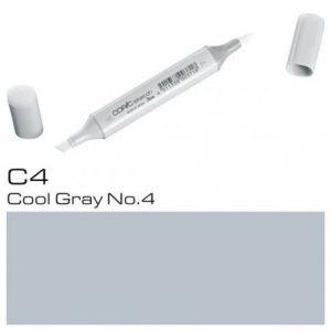 - Marcadores de C4 c4 gris frío 4 C Twin Tip marcador Bolígrafo Copic Sketch Cool grises