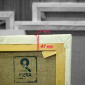 Europe Frames 47x17 mm linen canvas