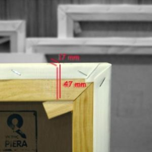 Europe Frames 47x17 mm fine cotton canvas