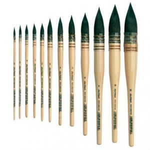 Da Vinci brushes petit gris