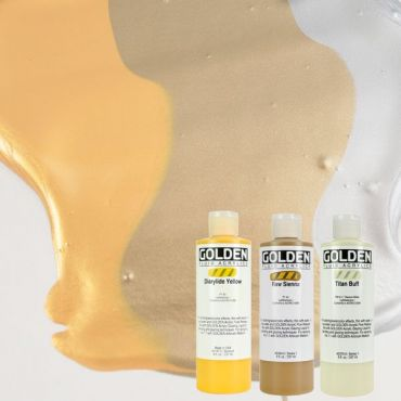 GOLDEN ACRILICOS FLUID 236 ml