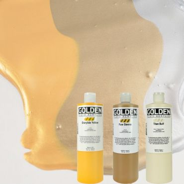 GOLDEN ACRYLICS FLUID 473 ml