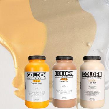 GOLDEN ACRYLICS FLUID 946 ml