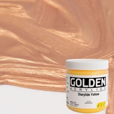 GOLDEN ACRÍLICS HEAVY BODY 236 ml.