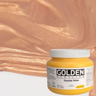 GOLDEN ACRÍLICS HEAVY BODY 946 ml.