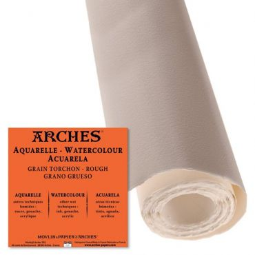 Papel acuarela Arches rollo