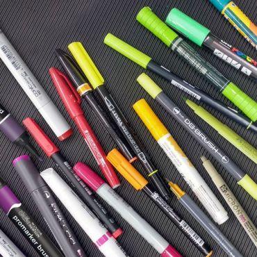 Retoladors per Belles Arts