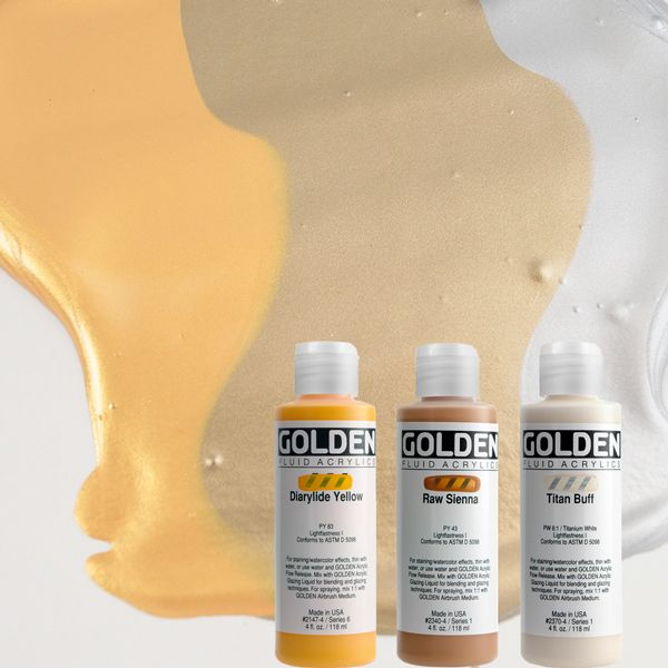 GOLDEN ACRYLICS FLUID 119 ml