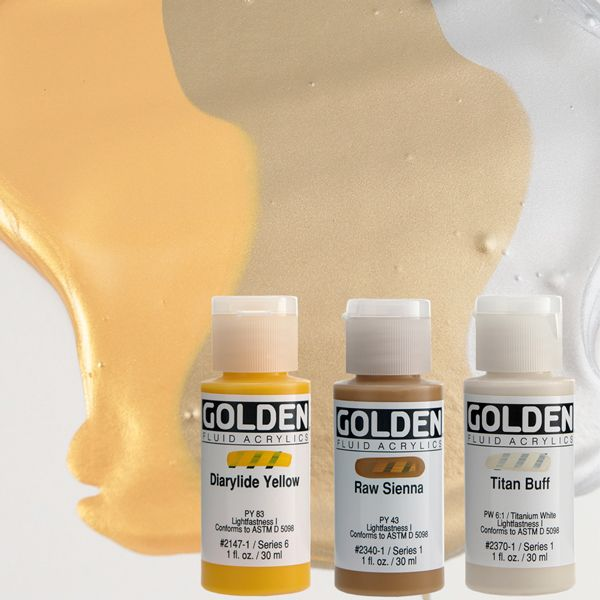 GOLDEN ACRYLICS FLUID 30 ml