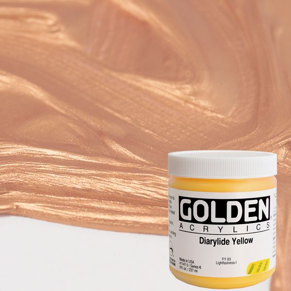GOLDEN HEAVY BODY ACRYLICS 236 ml.
